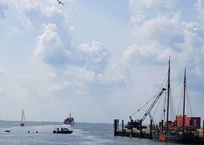 Hafen auf Spiekeroog